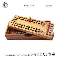 Wooden Horse Race Game Rules New family wooden horse racing funny board games set high quality 2