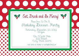 Christmas Party Invitation Samples Free Holiday On Templates Party