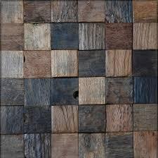 Square wood floor tiles Vinyl Pinterest Ancient Square Wood Mosaic Floor Tile Kslmc90241