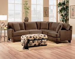 crammed sectional sofas with ottoman bella chocolate fabric sofa w optional chair