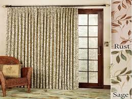 popular curtain ideas for patio doors