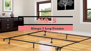 Top 7 Best Bed Frames for Heavy Person - YouTube