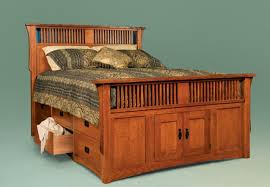 Drawers For Under Bed King Bed With Storage Drawers Oak King Size Storage Bed Under