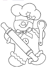 Gingerbread Man Coloring Pages 5 Free Xmas Printables To Color