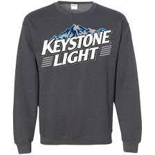 Keystone Light Sweatshirt Keystone Light Beer Pullover Sweatshirt Sweatshirts