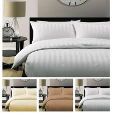 whole 5 star hotel quality stripe luxury quilt doona duvet cover duvet cover 100 cotton white satin 150 200 230 220 240 duvets bedding collections from