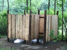 outdoor shower enclosure diy designs