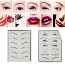 image is loading 3d permanent makeup eyebrow lips tattoo practice skin
