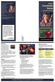 School Board Campaign Flyer Template School Election Flyer Template