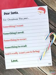 free printable kids list santa letter have your kids write a letter to santa
