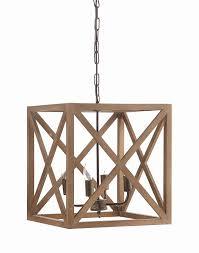 creative co op metal and wood chandelier design 34