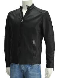 hugo boss orange boss orange jeeper black sheep leather single blouson riders jacket zip up