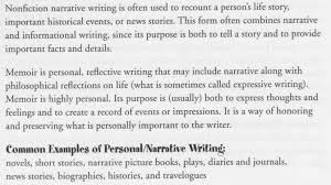 descriptive narrative essay example types of papers sad story   personal narrative essay examples designsid com sad story 12 high school example cfp thesis statement