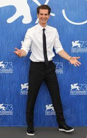 The Best Dressed Men Of The Week Andrew Garfield at Jimmy Kimmel.