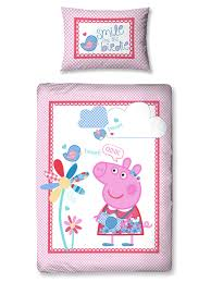 Your little one will love this gorgeous junior Peppa Pig duvet set ... & Your little one will love this gorgeous junior Peppa Pig duvet set. Each set  contains Adamdwight.com