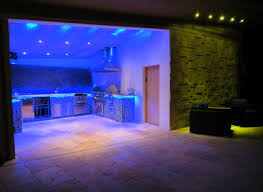 Led Lights In The Kitchen Awesome Blue Led Light Kitchen Design Combined With Green Light