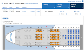 United Boeing 777 200 Seating Chart United Boeing 777 200 Point Me To The Plane