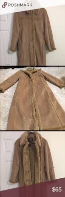 Utex Design Long Coat Utex Design Faux Shearling Long Coat Size Medium Comes From