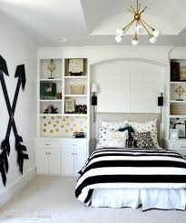 bedroom ideas for teenage girls black and white. Wonderful For Pottery Barn Teen Girl Bedroom With Wooden Wall Arrows By Two ThirtyFive  Designs For Ideas Teenage Girls Black And White C