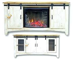 corner tv stand with fireplace media console infrared electric fireplace in dark