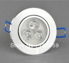 aluminum led recessed bathroom light dimmable 3x3w lighting warmcool white bathroom down lighting