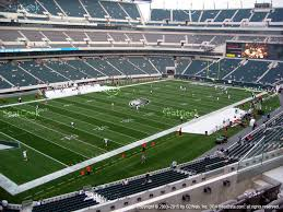 philadelphia eagles at lincoln financial field c 35 view