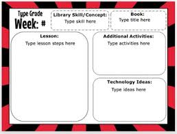 Editable Lesson Plan Forms