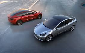 new electric car releasesTesla Model 3 announced release set for 2017 price starts at