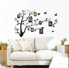 large family tree birds photo frame