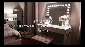 Vanity mirror lighting Touch Button Light Home Diy Hollywood Vanity Mirror With Lights Under 70 Youtube Home Diy Hollywood Vanity Mirror With Lights Under 70 Youtube