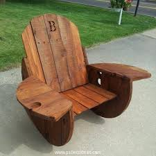 cable reel wooden rocking chairs