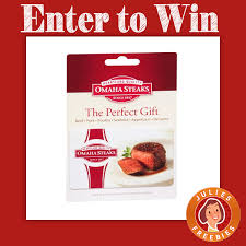 here is an offer where you can enter to win an omaha steaks gift card and a hayneedle ping spree