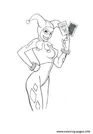 joker and harley quinn coloring pages with joker cards coloring pages harley quinn and joker