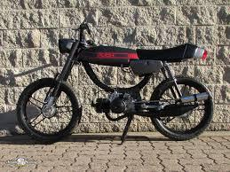 sunday morning motors beautiful vintage european pedal mopeds 1978 gray custom puch magnum 16