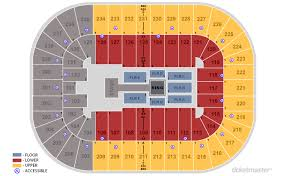 Greensboro Coliseum Detailed Seating Chart Tickets Friday Night Smackdown Greensboro Nc At