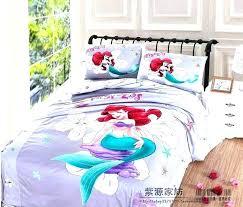 mermaid bedding full size king size duvet covers the little mermaid bedding full comforter set luxury