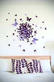 wall decoration ideas for bedroom handmade