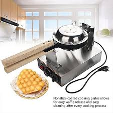 Generic 220v Electric Egg Cake Oven Puff Bread Maker Stainless Steel