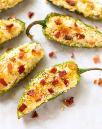 Grilled Jalapeno Poppers Recipe Cooking Light Bacon Jalapeno Poppers