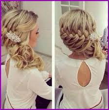 Coiffure Mariage Tresse Et Boucle 278439 Coiffure Mariage