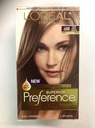 L Oreal Excellence Light Beige Brown Loreal Paris Superior Preference 6bb Light Beige Brown