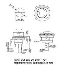 philmore lighted round rocker switch wiring diagram philmore philmore lighted square bezel nut mounted round rocker switch w