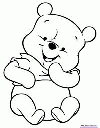 Kleurplaat Winnie De Poeh Bewegende Animatie 0023 Drawings Bear