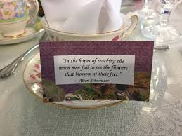 Place Cards Each On Different Picture Of The Secret Garden
