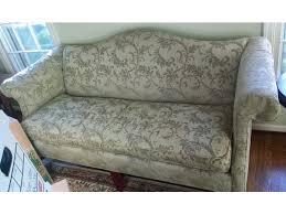 Must Sell  Elegant Camelback Sofa 450 Camelback Sofas For Sale E26