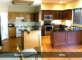 cabinet refacing vs painting. Simple Painting Refinish Kitchen Cabinets Cost Cabinet Refacing Vs Painting To  Of And Cabinet Refacing Vs Painting E