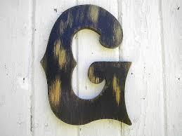 amazing letter g metal wall art surfer custom wall letters design