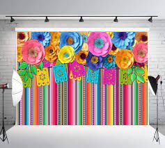 Fiesta Theme Party Backdrop Cinco De ...