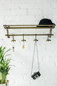 Vintage Wall Coat Rack Small Entrance Hall Ideas Vintage Wall Mounted Coat Rack Homegirl 87