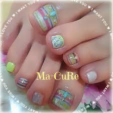 Ma Cureマーキュアさんのネイルデザイン 夏ネイルネオンカラー